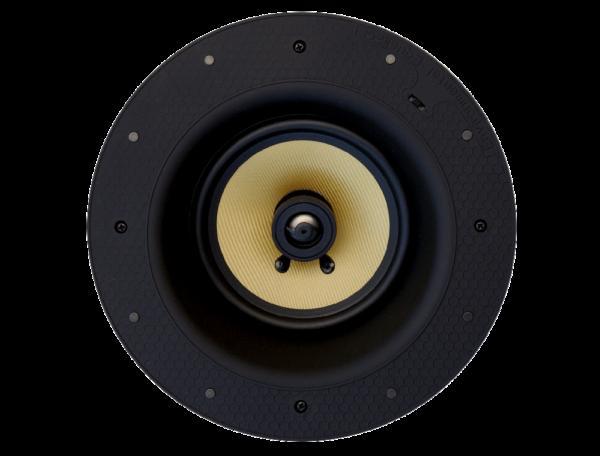 Front ceiling speaker